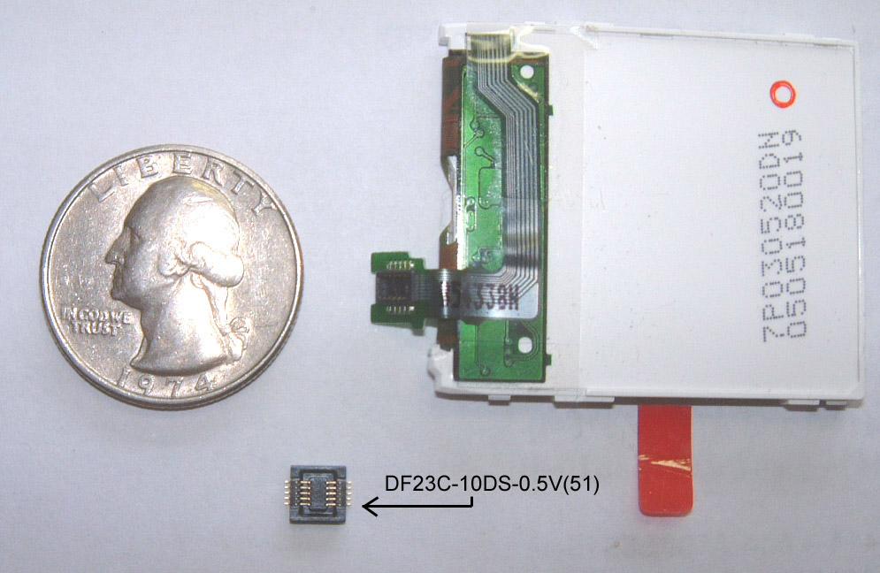 DF23C-10DS-0.5V LCD Connector