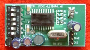TU-8px Tone Encoder for the Kenwood TS-140s and TS-680s